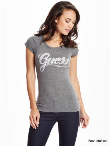 Dámské tričko Guess Abigail Tee  b6e1e0582ae