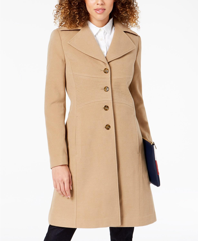 Dámský kabát Tommy Hilfiger Single Breasted Coat  bb3c945c59d
