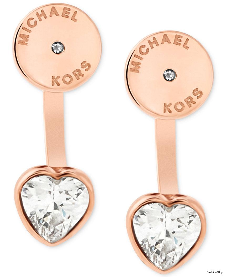 Naušnice Michael Kors Heart Earrings MKJ6021710