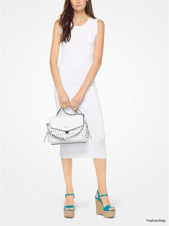 Dámské šaty Michael Kors Ruffled Dress  88b2981f907