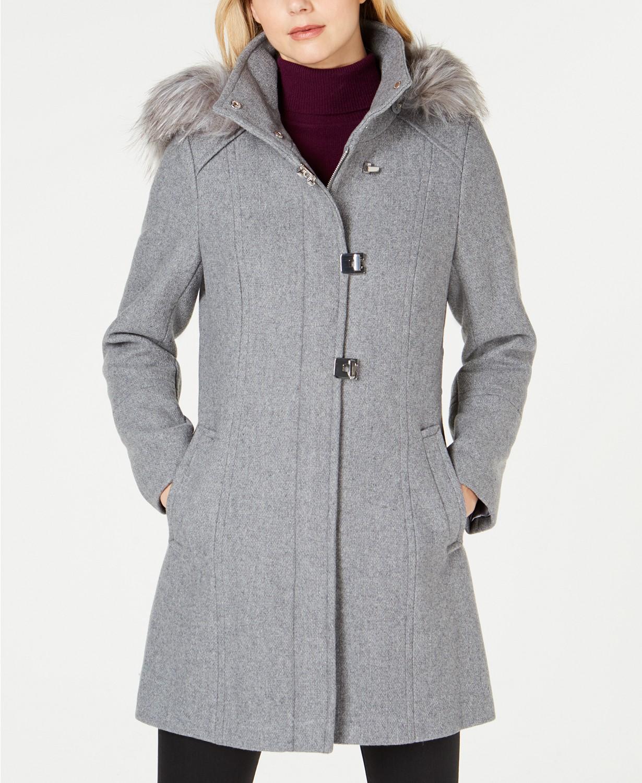 Vlněný kabát Calvin Klein Coat  73b52321a5