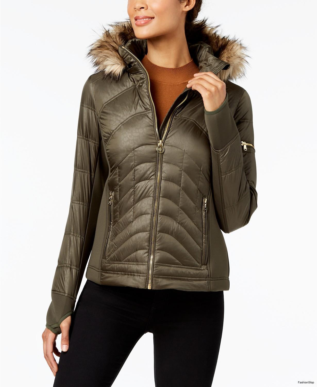 new lower prices shop best sellers new styles Dámská bunda Michael Kors Hooded Puffer Coat