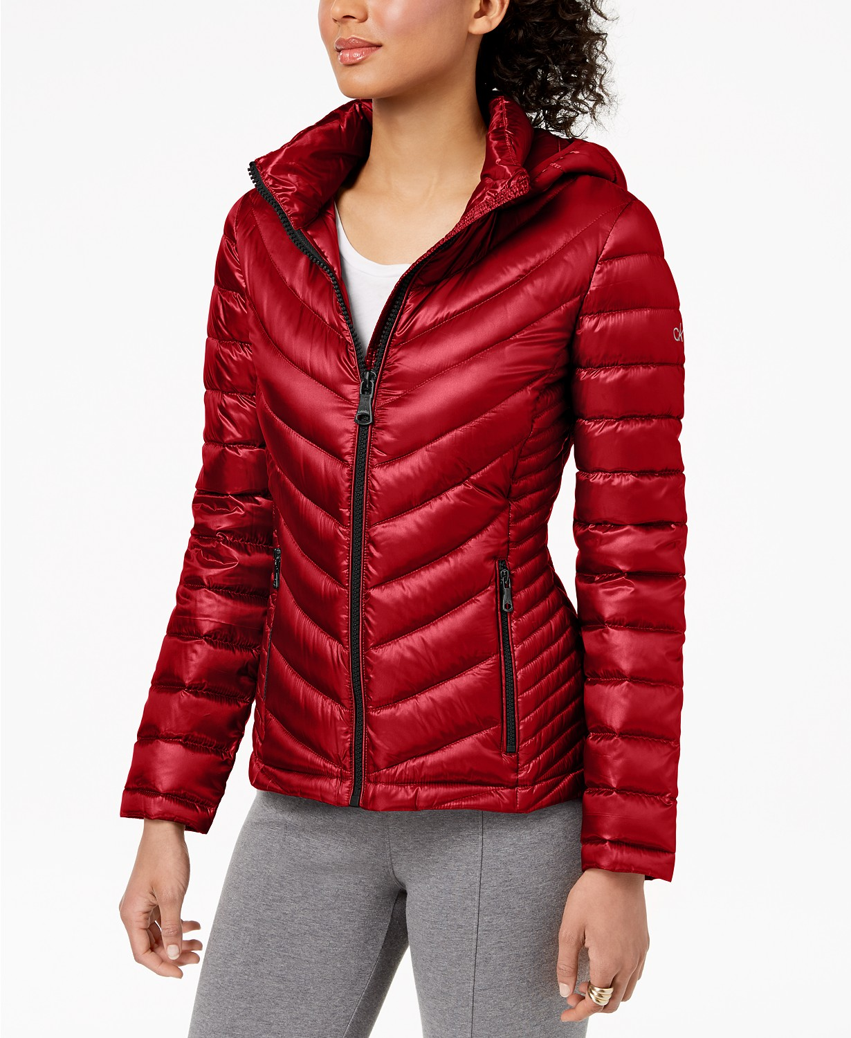 Dámská bunda Calvin Klein Packable Puffer Coat
