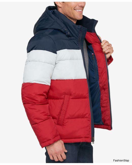 Tommy Hilfiger bunda s kapucí Quilted Jacket  cf2a6e37f6