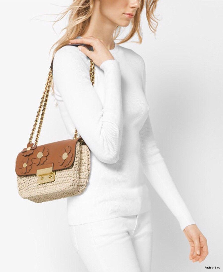 Kabelka Michael Kors Sloan Flower Croquet Bag