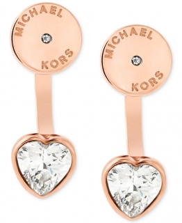 Náušnice Michael Kors Heart Earrings MKJ6021710