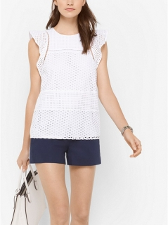 Dámský top Michael Kors Eyelet Top