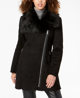 Bunda Calvin Klein Faux Shearling Coat