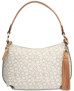 Kabelka Calvin Klein Holly Signature Hobo