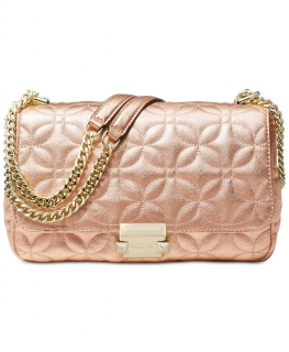 Kabelka Michael Kors Quilted Floral Crossbody