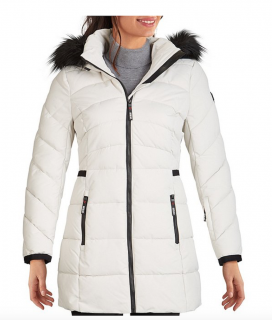 Dámská bunda Guess Puffer Long Jacket