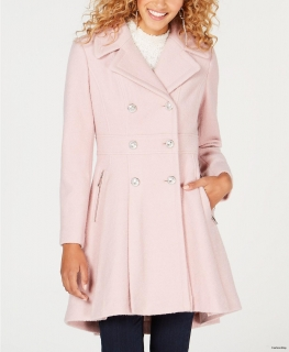 Kabát Guess Skirted Coat